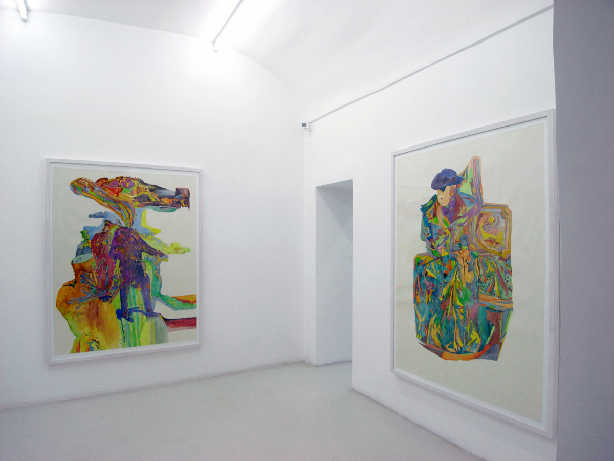 The creaky shaft, 2007, exhibition view