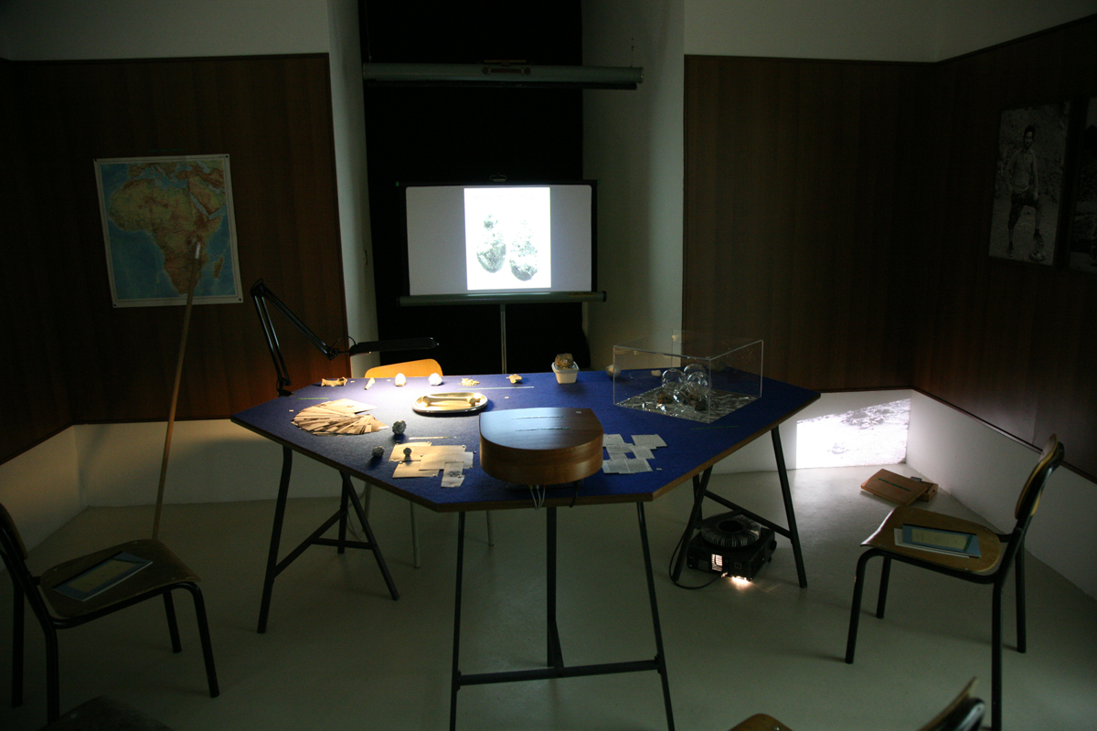 Simon Fujiwara, The Museum of Incest, 2008-2009, exhibition view