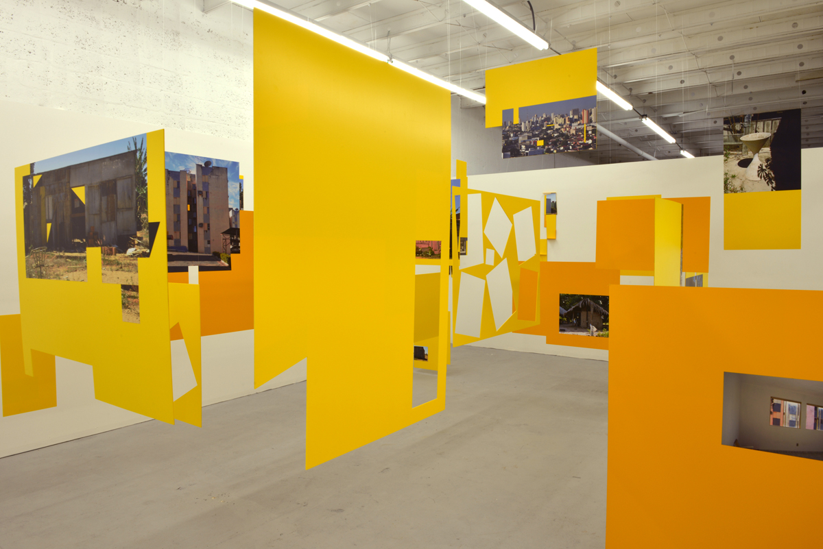Disassembling Paradise, 2013, exhibition view at KaBe Gallery, Miami, USA