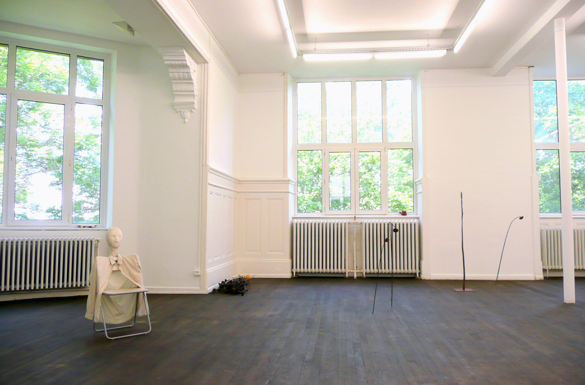 Echo of the moon, 2012, exhibition view at Crac–Alsace, Altkirch, France
