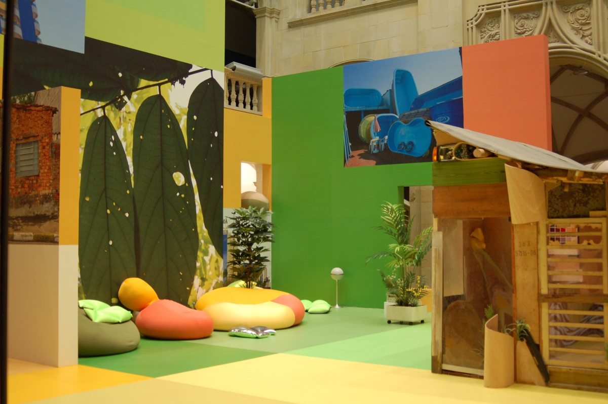 Paradise in the New World, 2008, installation view at LWL, Munster, D