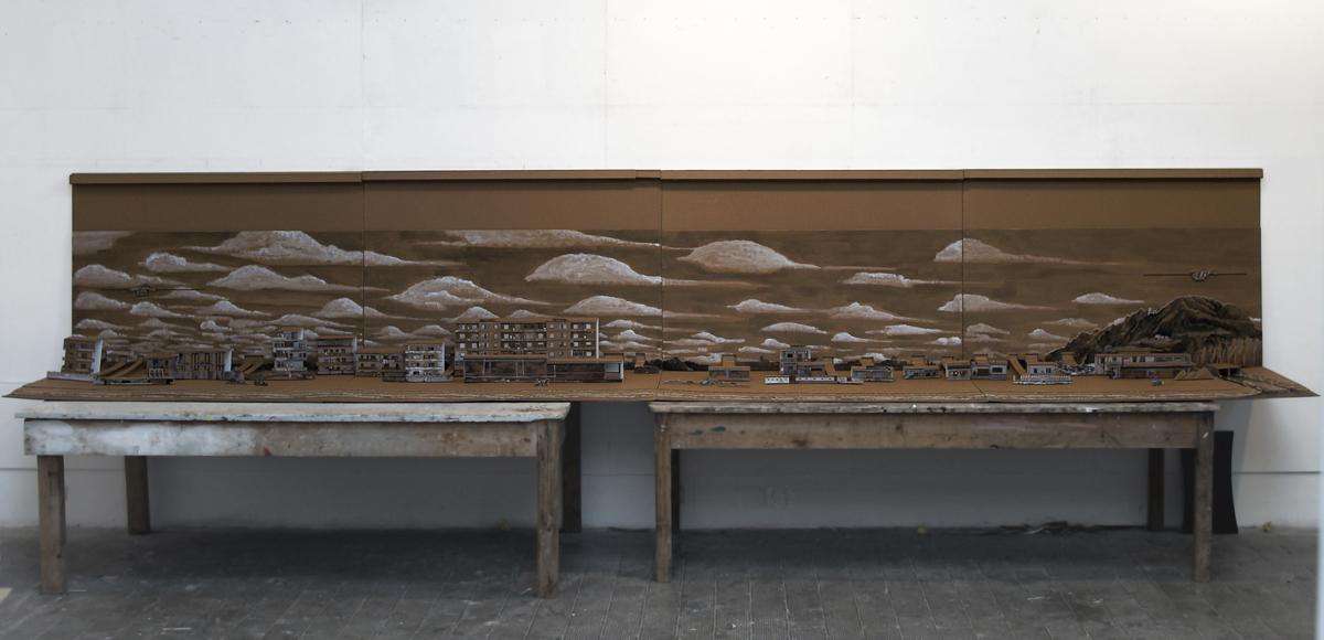 Popup Licola, 2013, mixed media, cm 100x600x105, winner Maretti Award