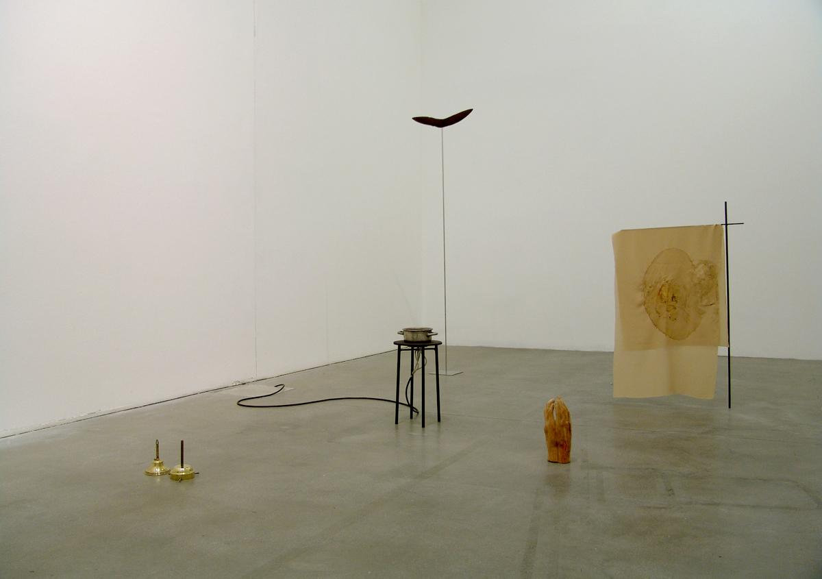 Colosso fluviale, 2010, installation view at Fondazione Sandretto Re Rebaudengo, Torino