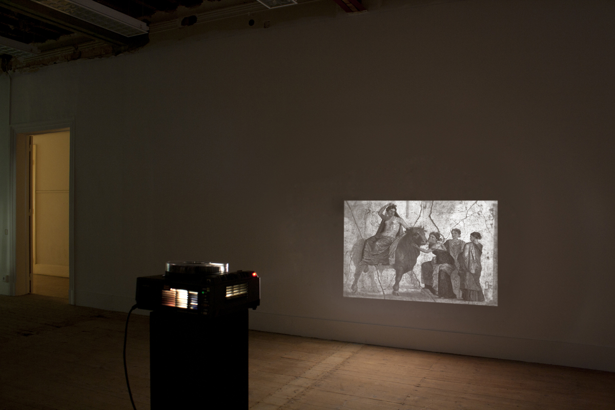The Myth of Violence_Europa, 2012, installation view at Parkour, Lisboa