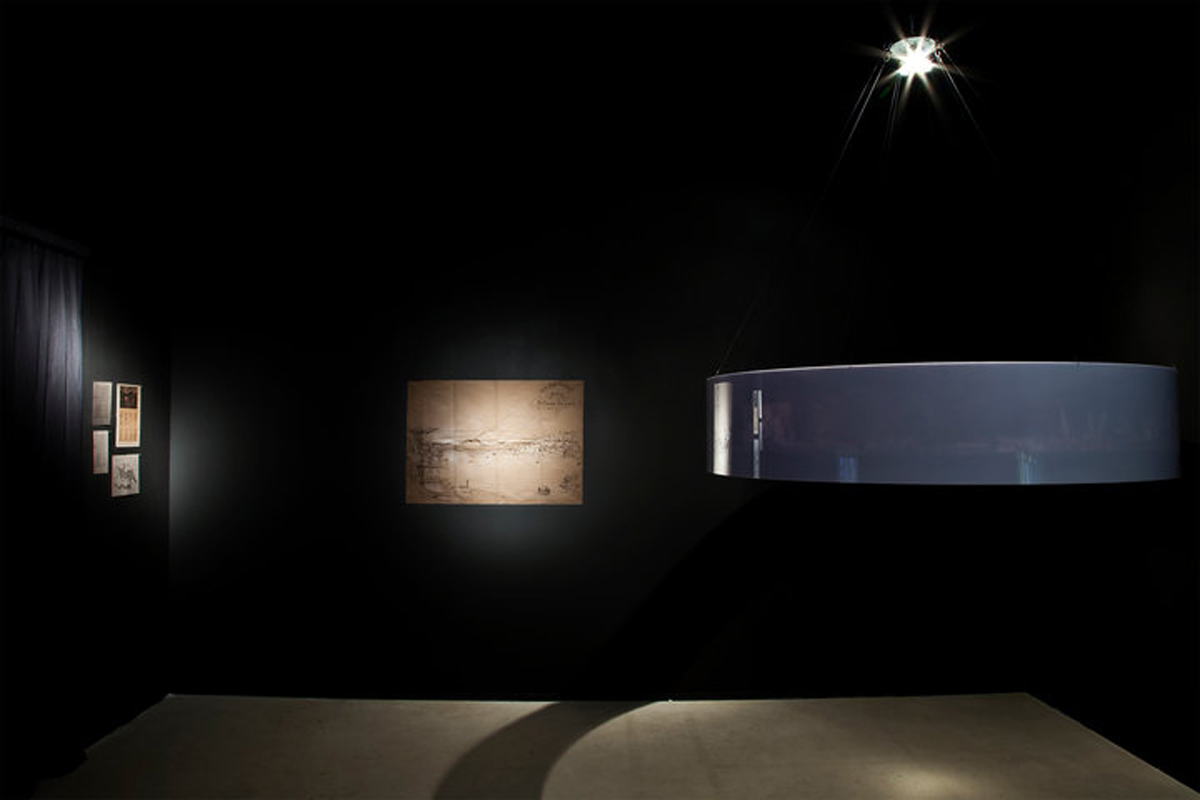 Transit 4, 2010, exhibition view at Museo MADRE, Napoli, Italy