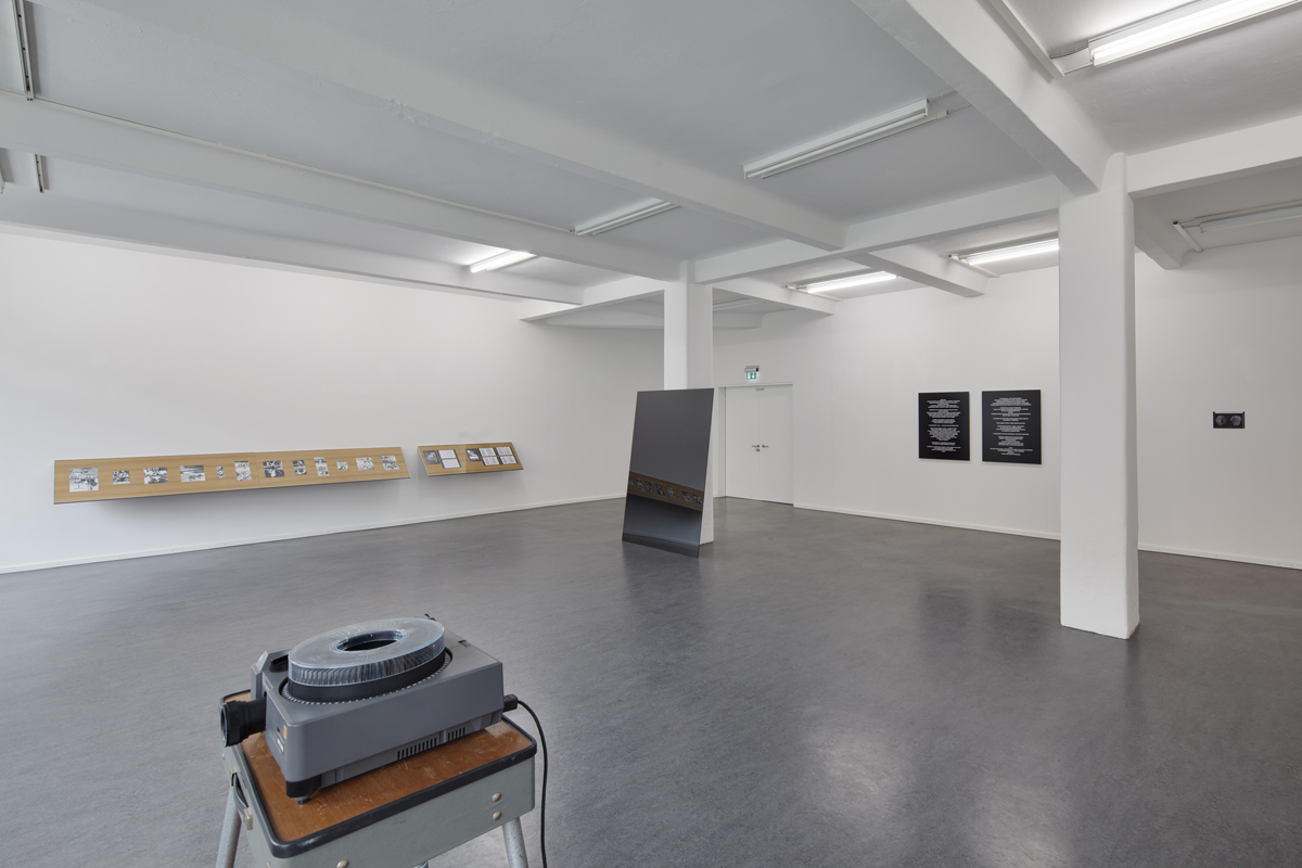 The Vertical Stage, 2010, exhibition view at Bethanien, Berlin photo David Brandt