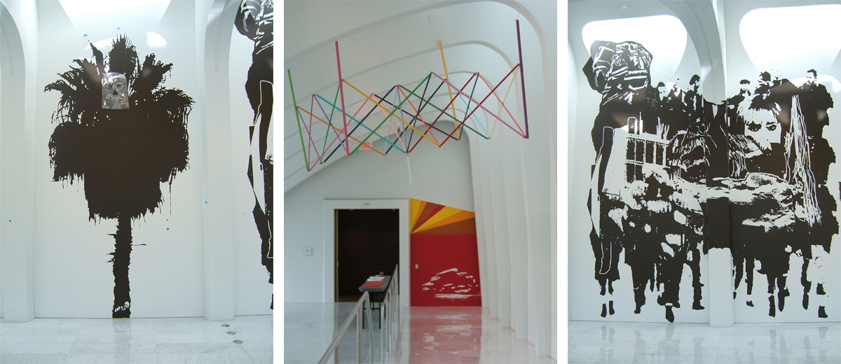 On site: Santiago Cucullu (MF Ziggurat), 2008, installation view at Milwaukee Art Museum