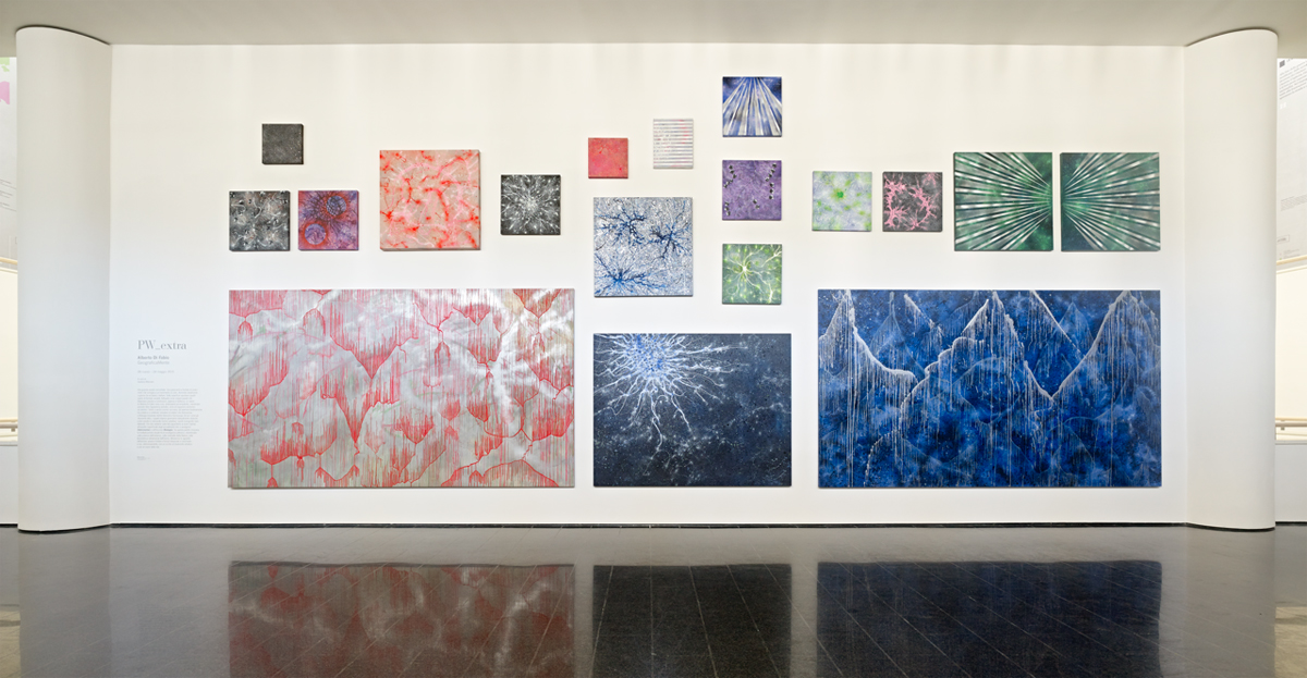 GeograficaMente, 2015, exhibition view at Mart Rovereto, Trento, Italy
