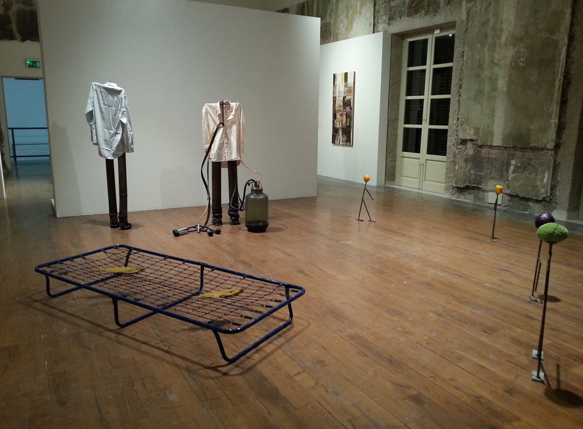 Nel mezzo del mezzo, 2015,curated by Christine Macel,Marco Bazzini,Bartomeu Mari, exhibition view at Museo Riso, Palermo