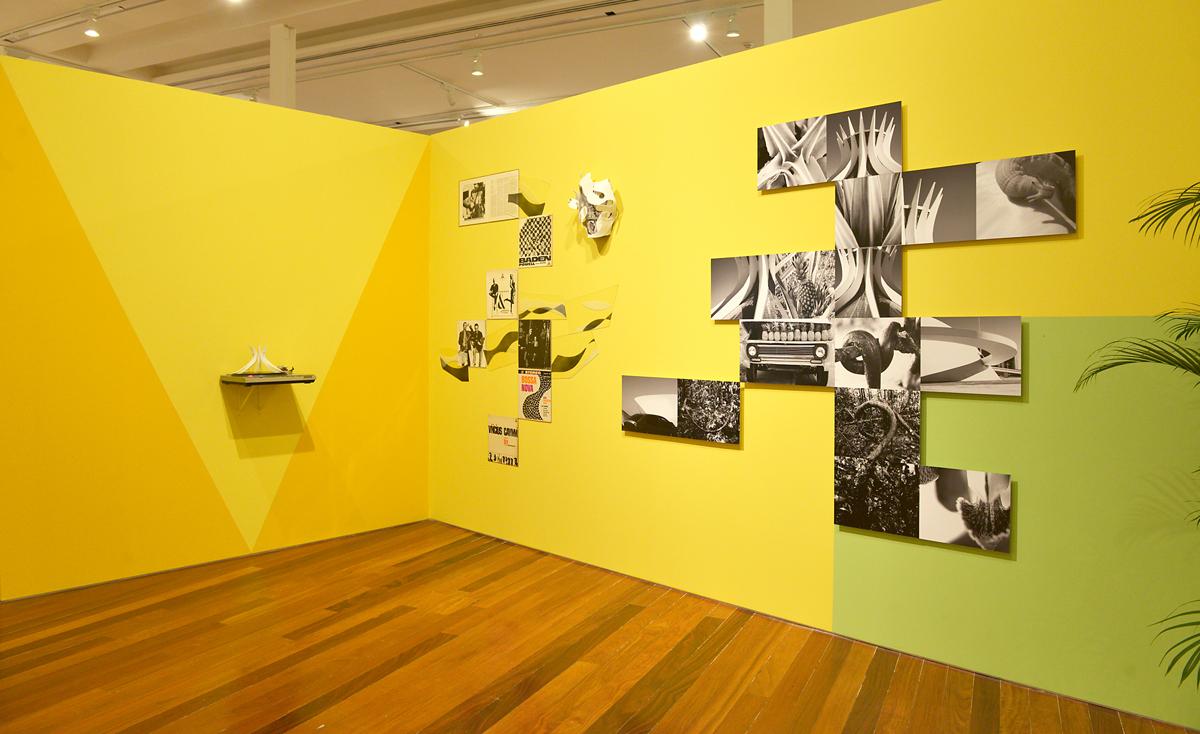 Encontro de Mundos, 2014, exhibition view at Museu de Arte do Rio de Janeiro, Brazil, curated by Paulo Herkenhoff