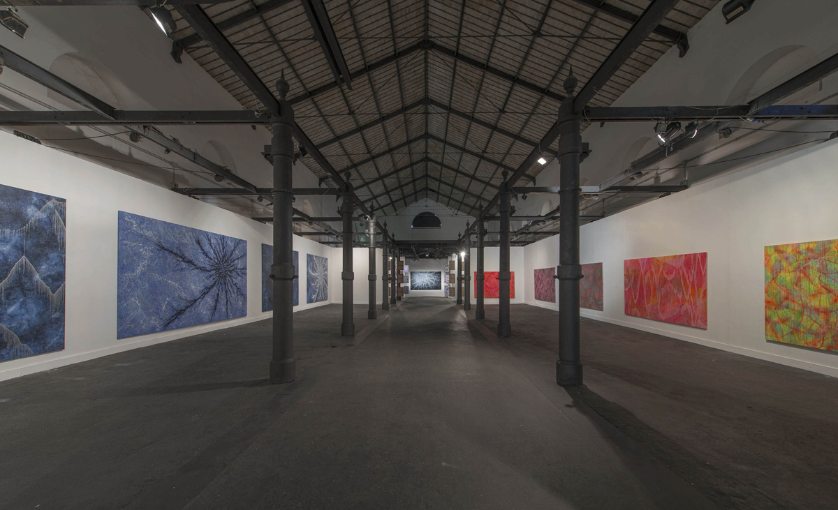 CosmicaMente, 2015, curated by Laura Cherubini, exhibition view at MACRO Testaccio Roma
