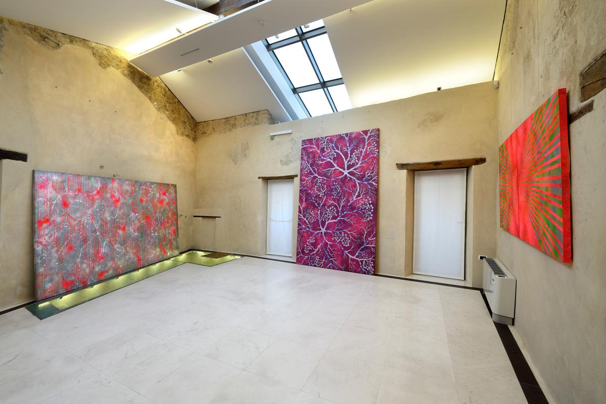 Paesaggi della mente, 2014 exhibition view at Fondazione Menegaz, Castelbasso, Italy