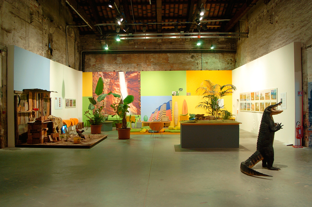 Always a little further, 2005, exhibition view at 51st international Art Exhibition, Biennale di Venezia, curated by Rosa Martínez
