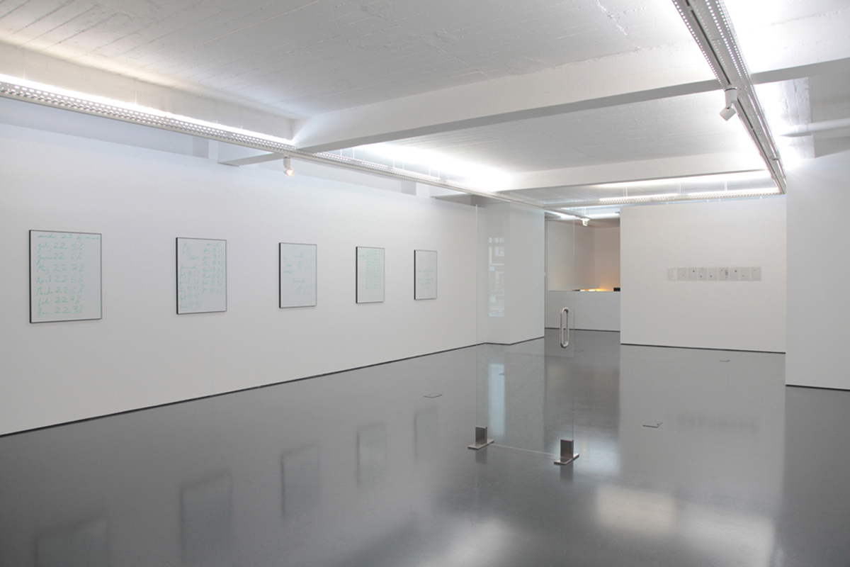 The Chosen Ones, 2012, exhibition view at Galeria Pedro Cera, Lisboa