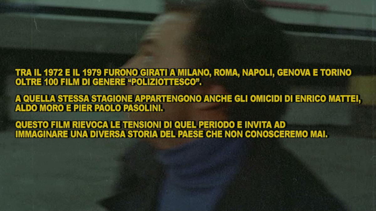 La notte del Drive in: Milano spara, 2013, film 38'