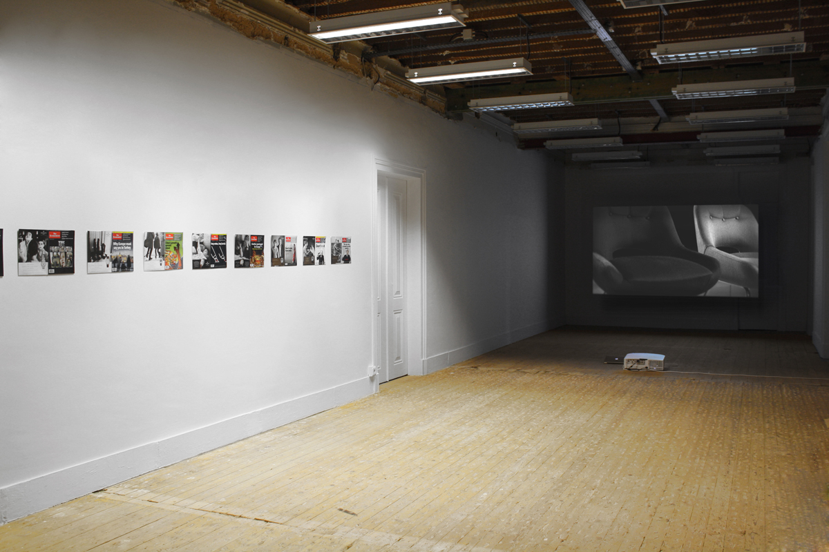 The Integration Process, 2012, exhibition view at Parkour, Lisboa