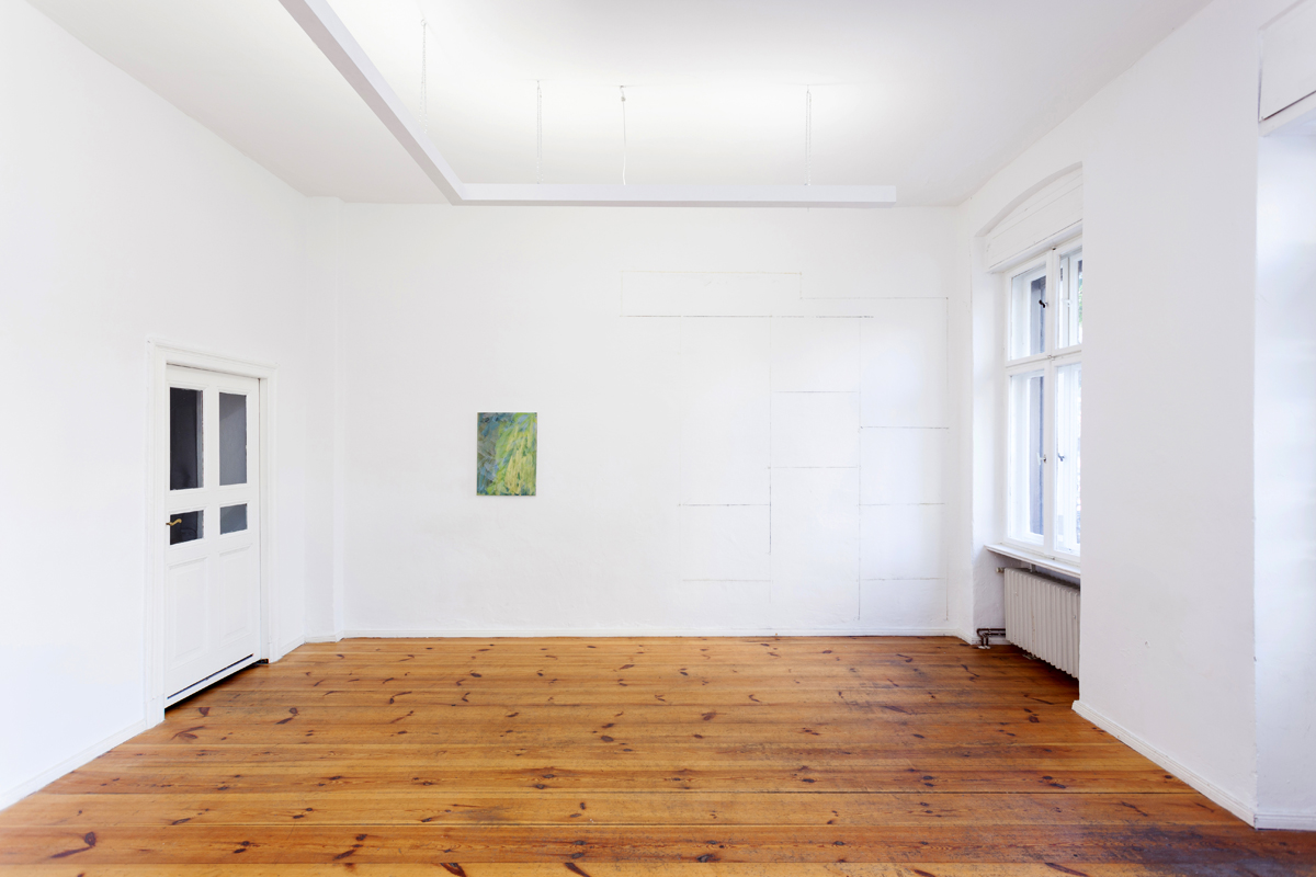Crystal Frontier, 2012, exhibition view at Enblanco Projektraum, Berlin
