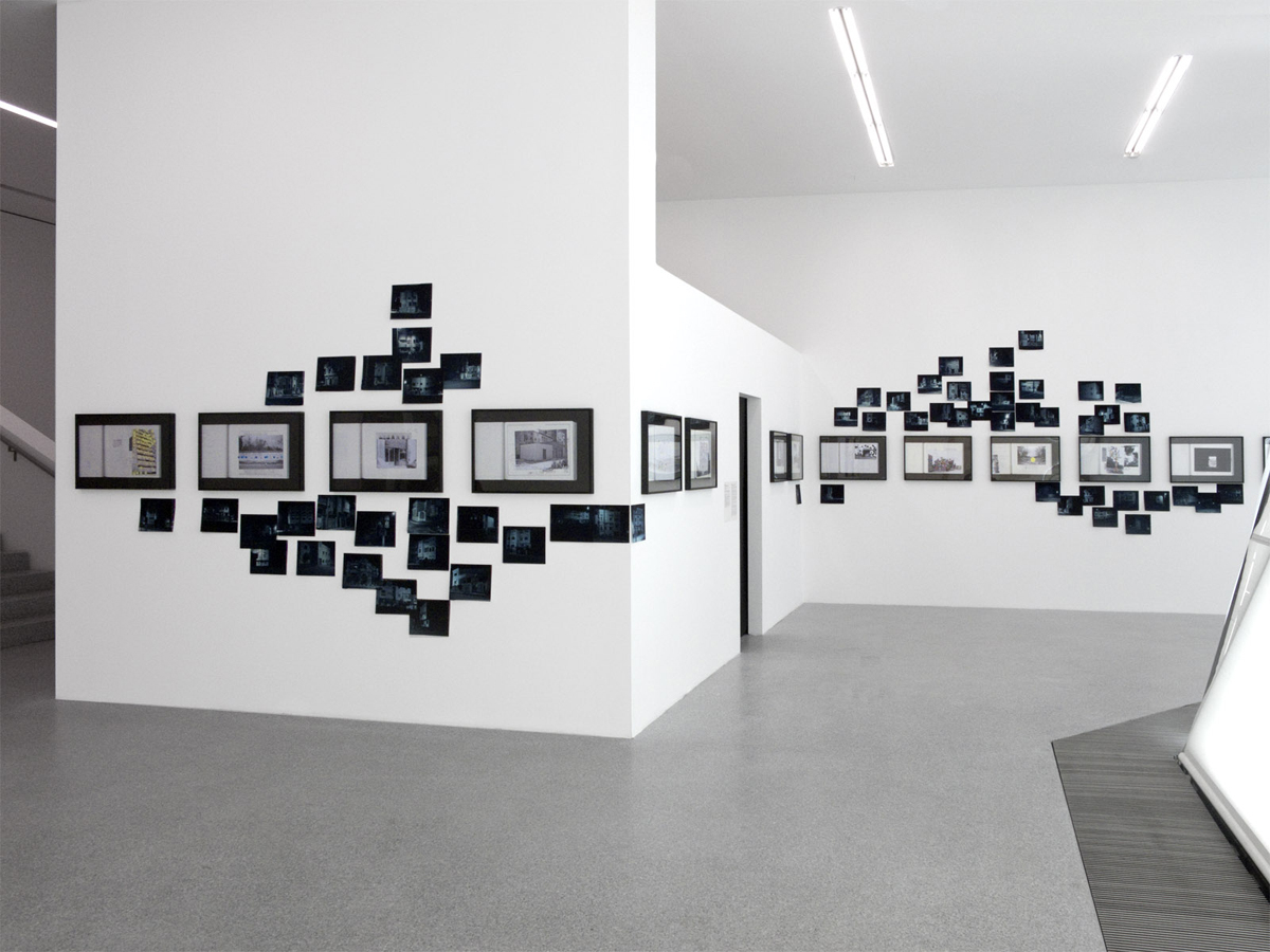 The Morocco Affair. New Entries!, 2009–2010, exhibition view at Museion, Bolzano