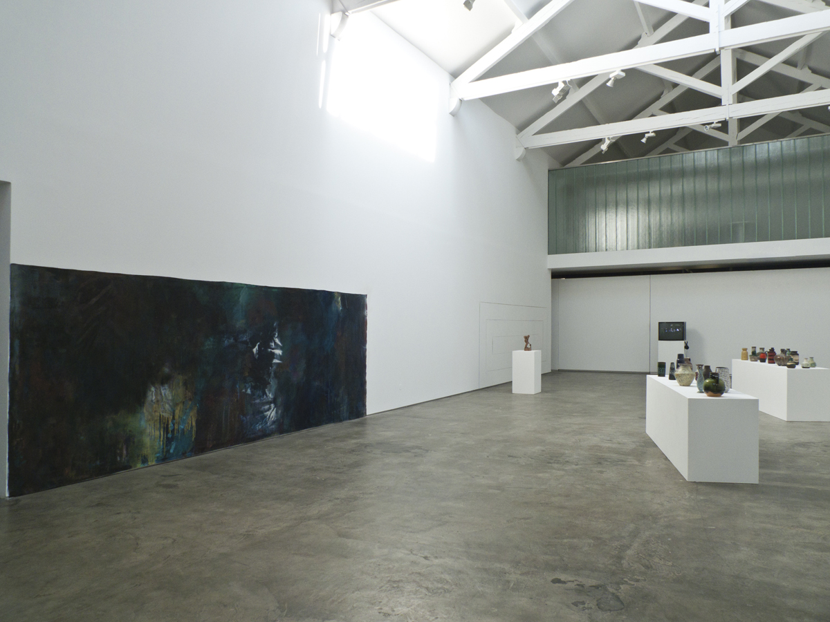 Under Fire, 2012, exhibition view at Galeria Baginski, Lisboa