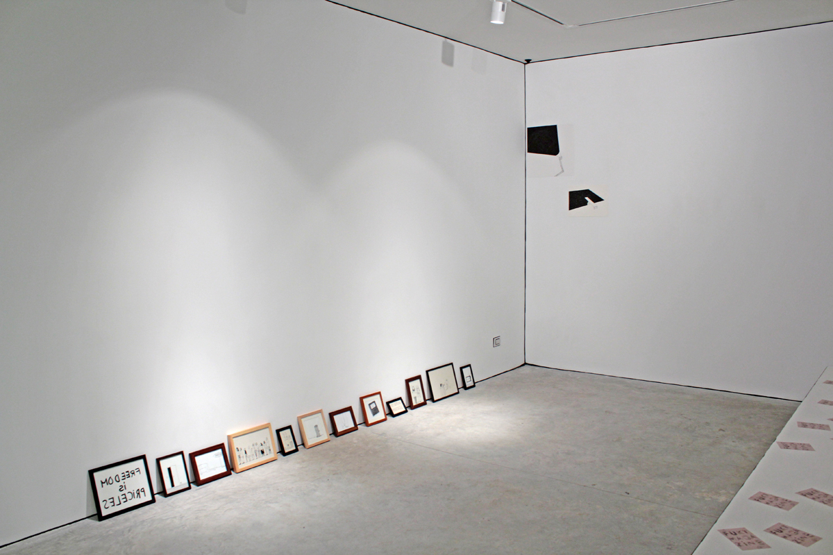 Reading Room, 2010, installation view at Nomas Foundation, Roma