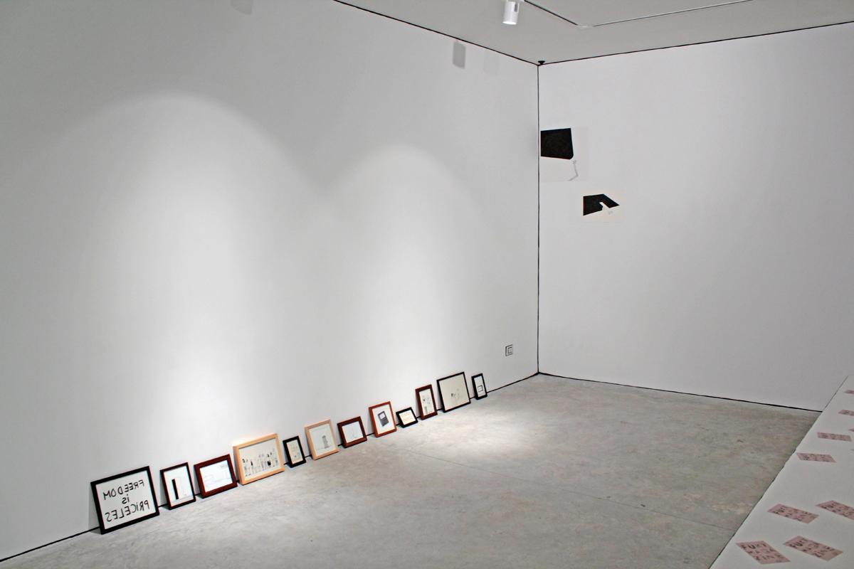 Reading Room, 2010, installation view at Nomas Foundation, Roma