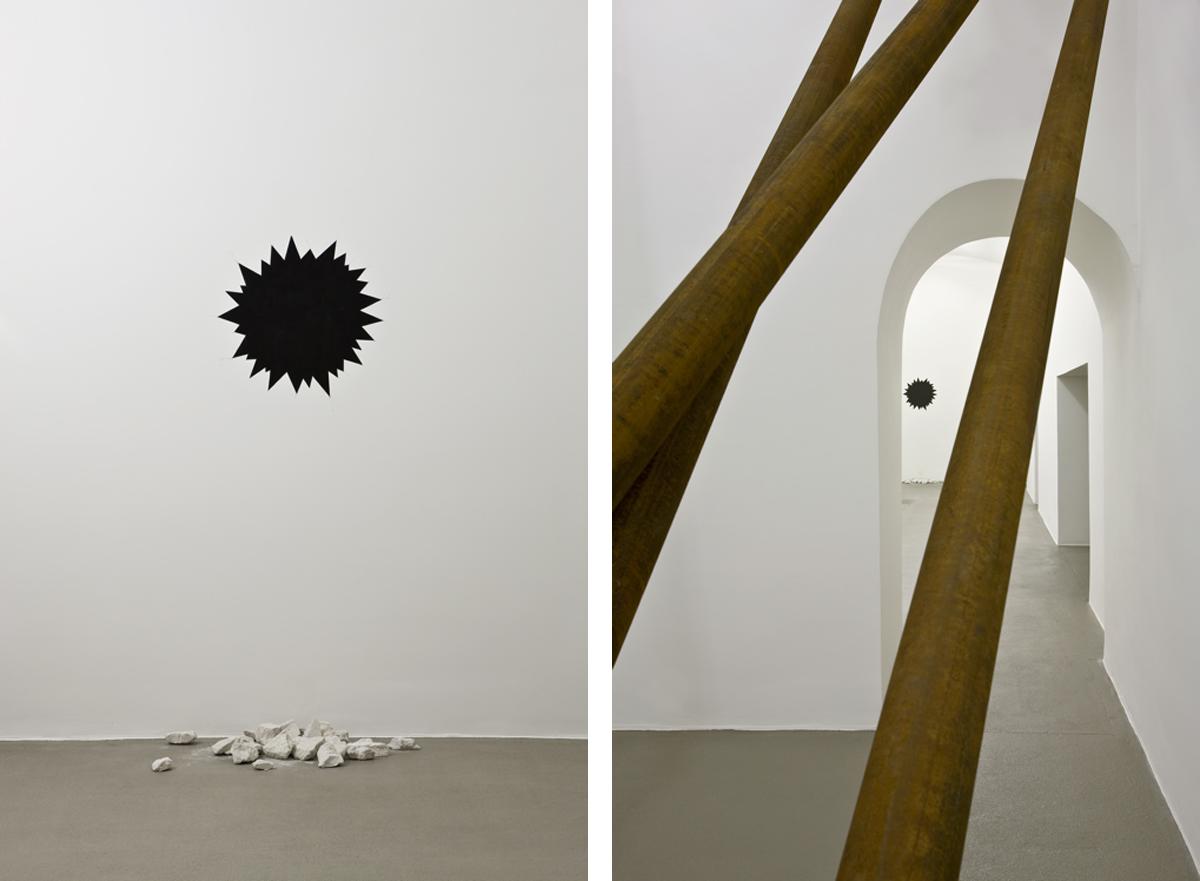 Mutiny Seemed a Probability, 2010, installation view at Fondazione Giuliani, Roma photo Claudio Abate ©- Giuliani Collection
