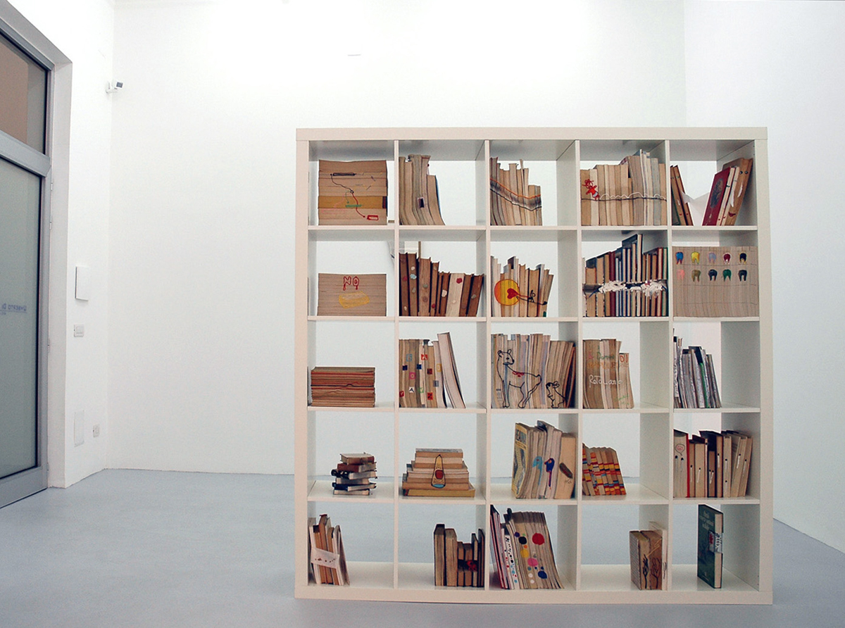 vedovamazzei, 2005, exhibition view at Galleria Umberto Di Marino, Napoli, Italy