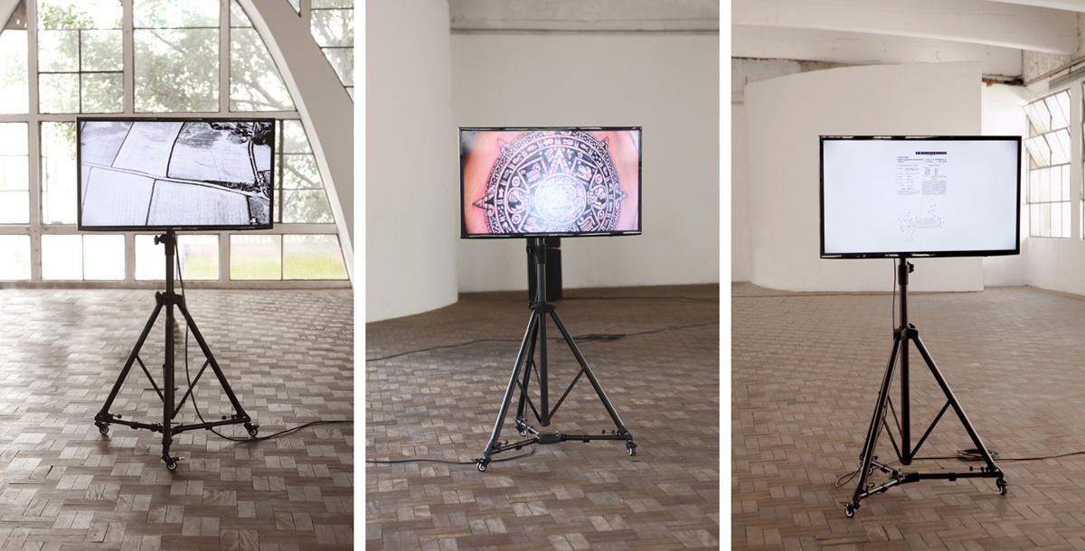 Postcodes, 2014, exhibition view at Casa do Povo, São Paulo, BR