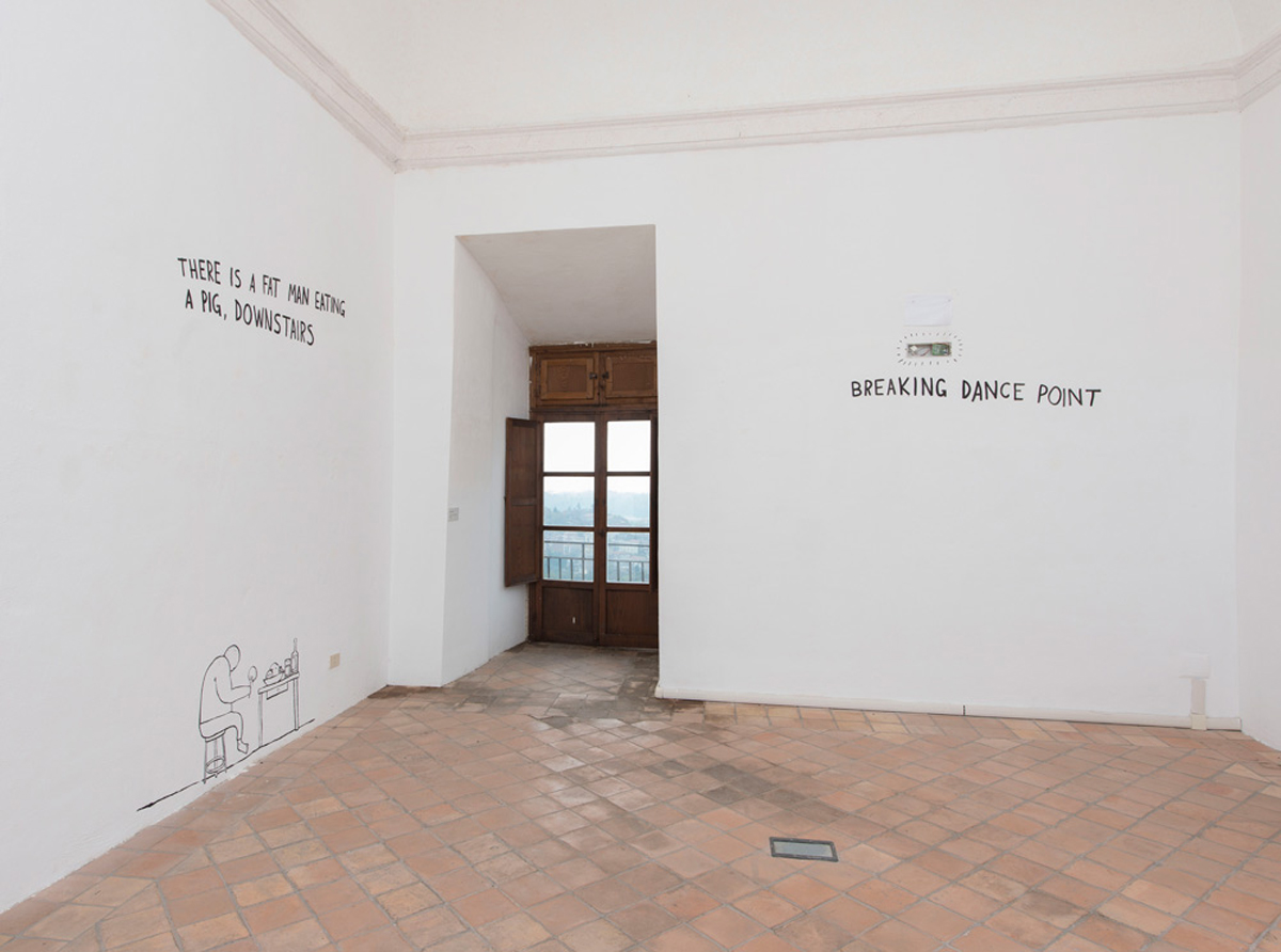 dodici stanze, 2015, exhibition view at CIAC – Colonna Castle – Genazzano, Roma
