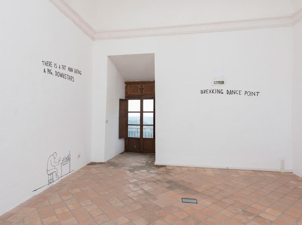 dodici stanze, 2015, exhibition view at CIAC – Colonna Castle – Genazzano, Roma