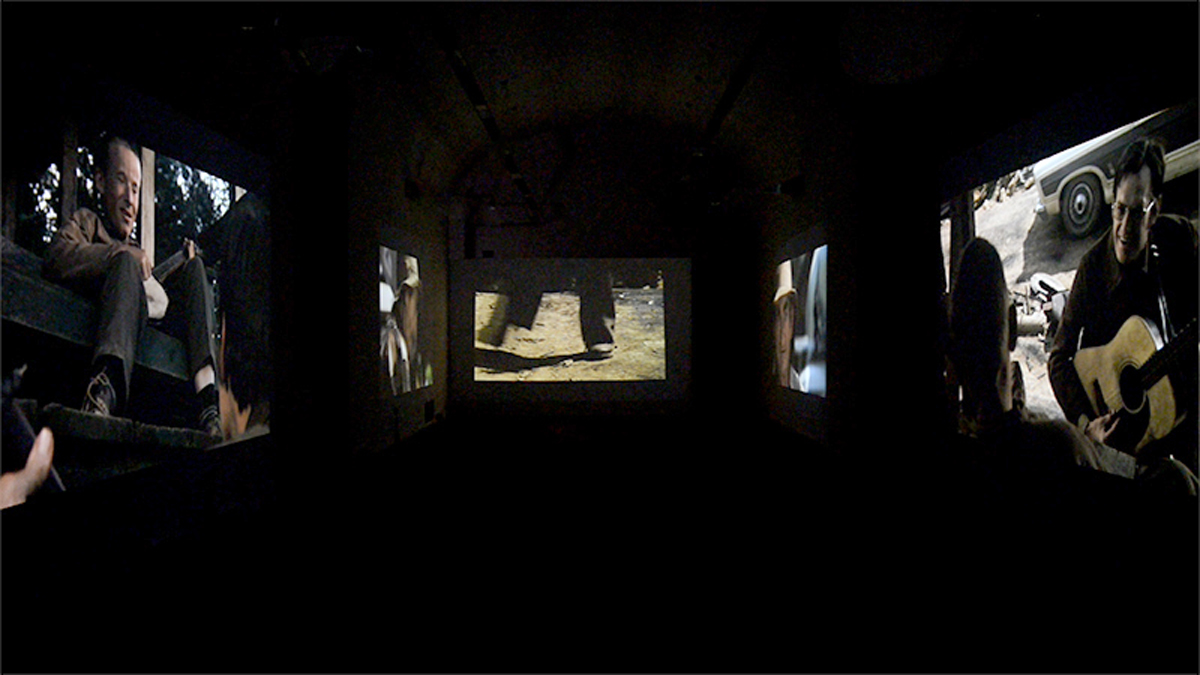 American Recordings, 2015, film, HD, 20', installation view at Castello di Rivoli, Torino