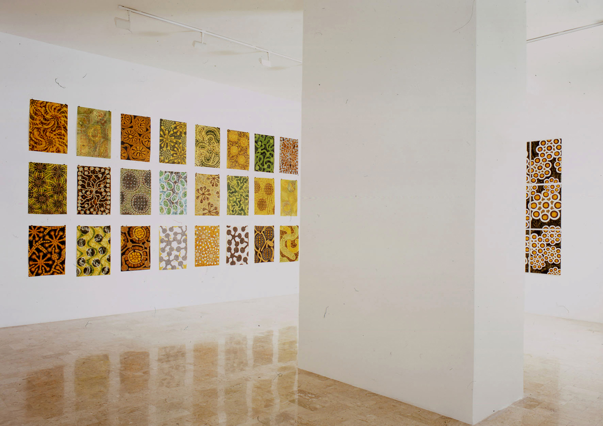 ri-impianto, 2004, exhibition view