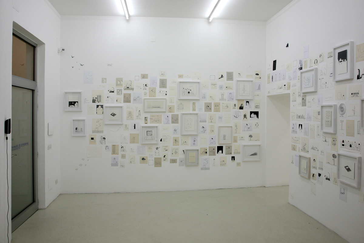 Il futuro non è più quello di una volta, 2008, exhibition view
