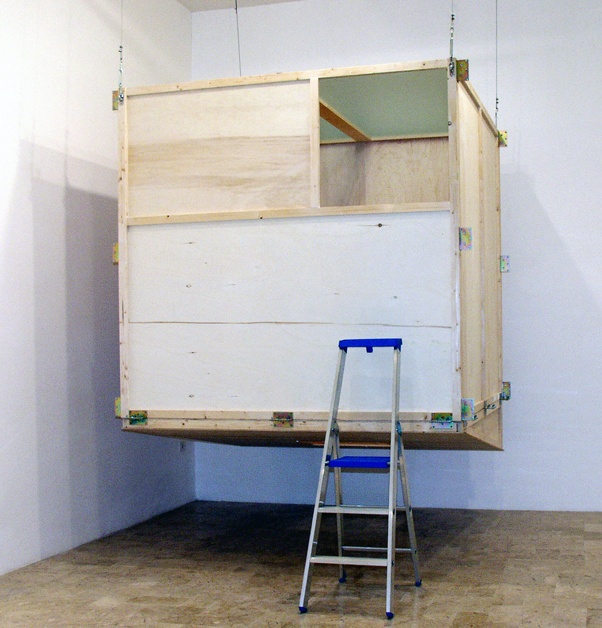 Pas au de là, 2004, exhibition view