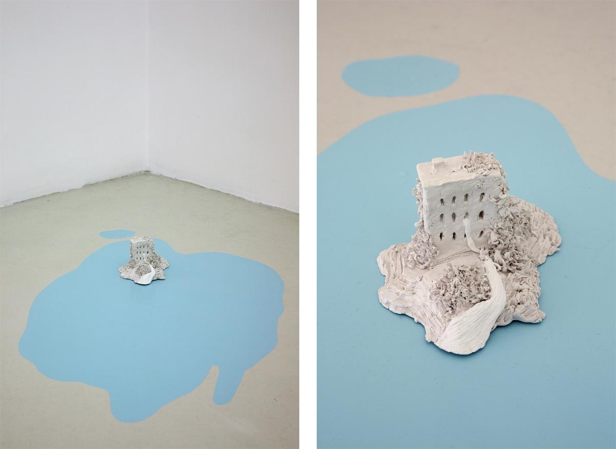 Rappresentazione del materiale onirico, 2008, enamel, das