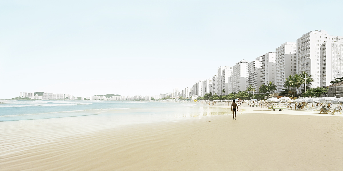 WWW Guaruja_T44, 2005/2010, Digital Print on Hahnemühle, cm 110 x 220
