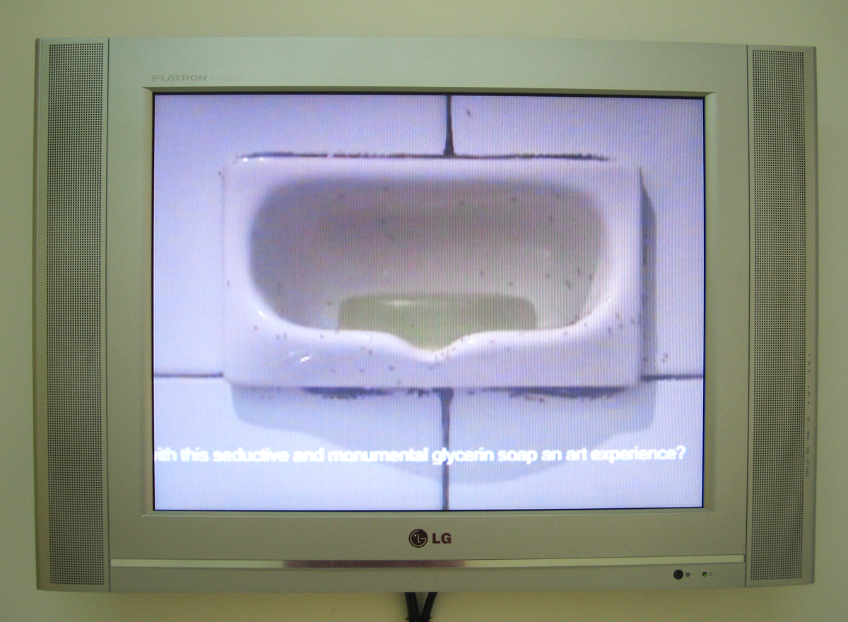 The Ants and the Soap, 2006, video, 14' 16''