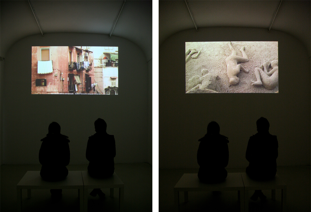 hashish in Naples, 2009, video projection, 17' 28''