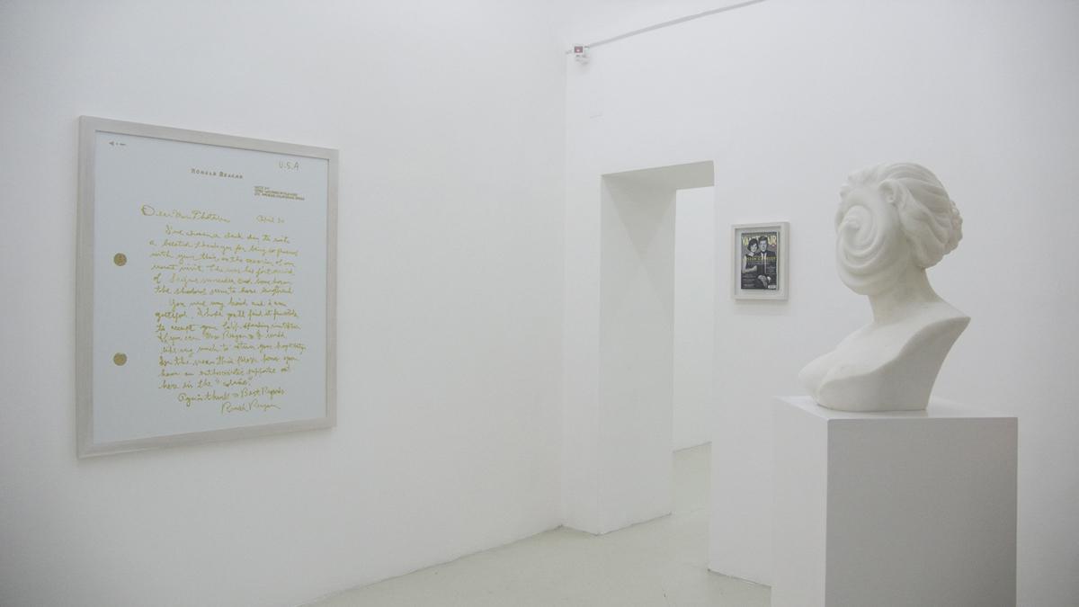 11 dicembre, 2008, exhibition view at Galleria Umberto Di Marino, Napoli, Italy