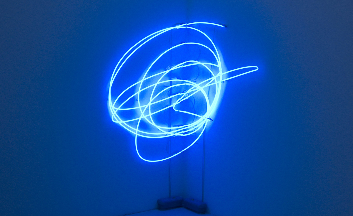 Untitled, 2008, neon light, cm 138 x 134