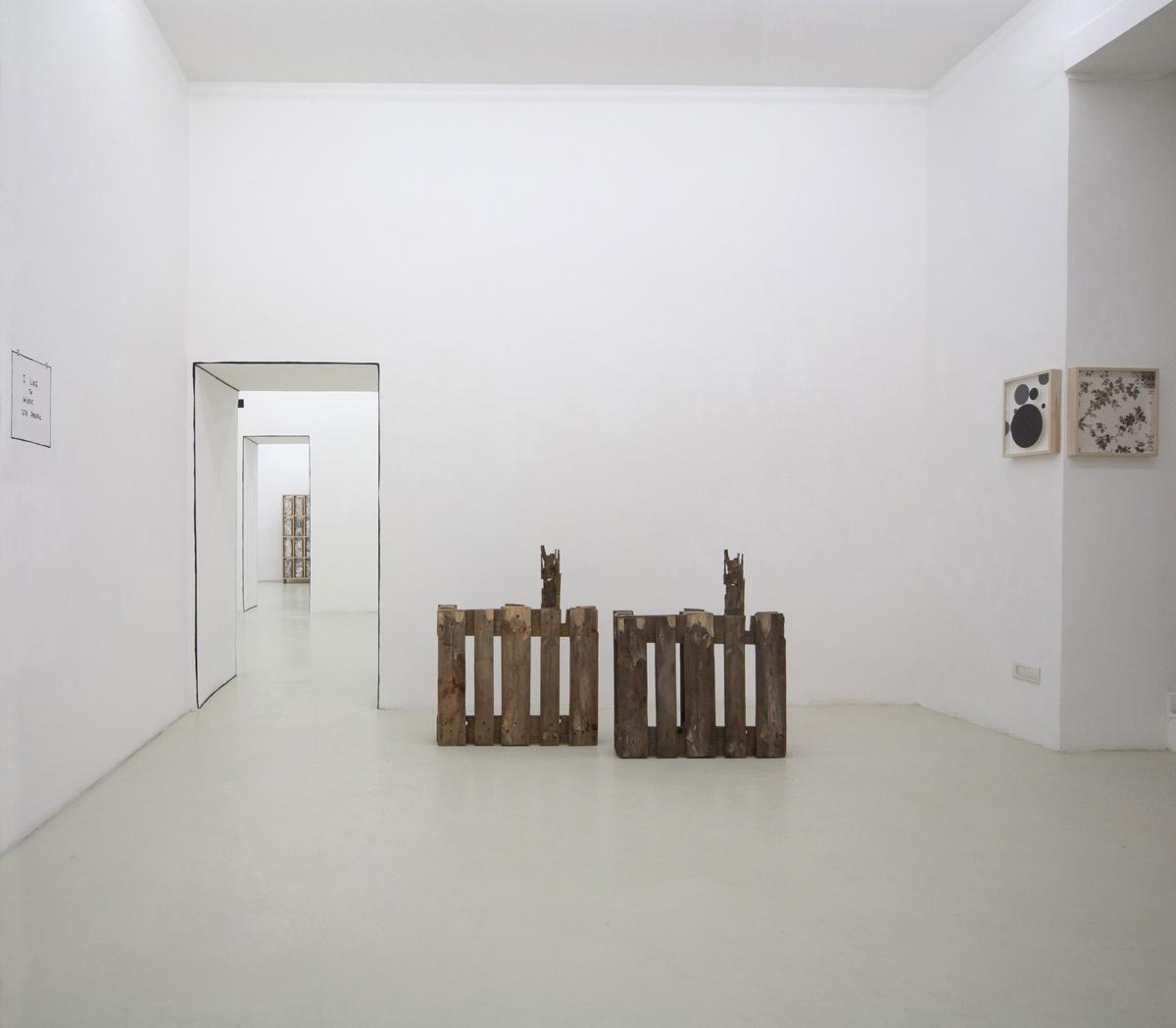 Marco Raparelli, vedovamazzei, exhibition view