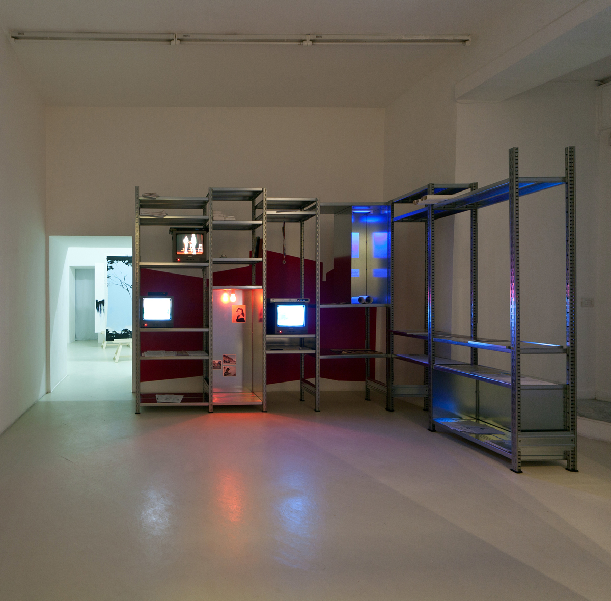 Rosas: The Trilogy, 2012, exhibition view