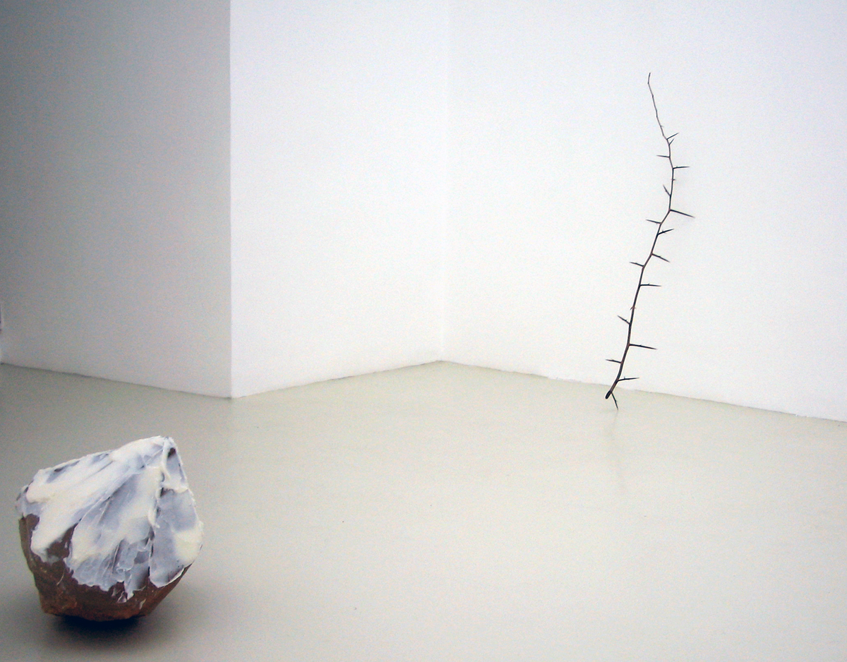 A naked tree and some other works…, 2006, exhibition view