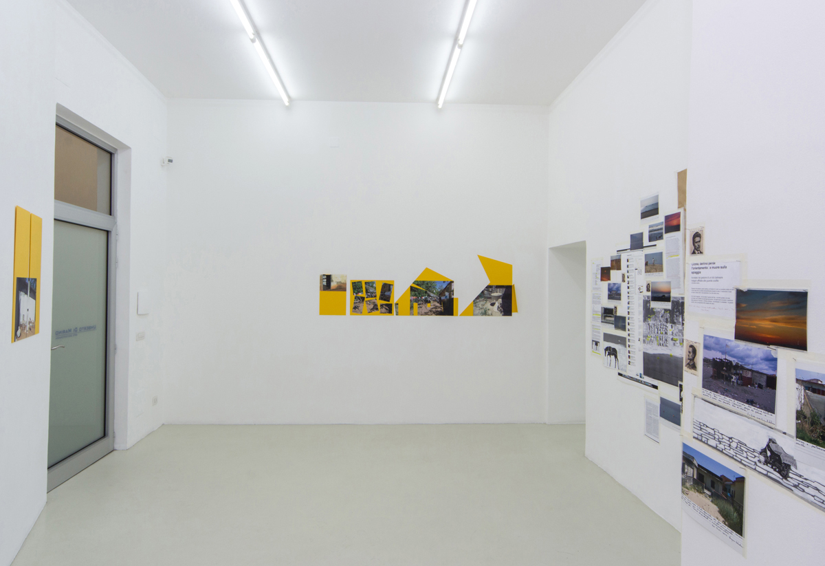 Sergio Vega, Eugenio Tibaldi, exhibition view