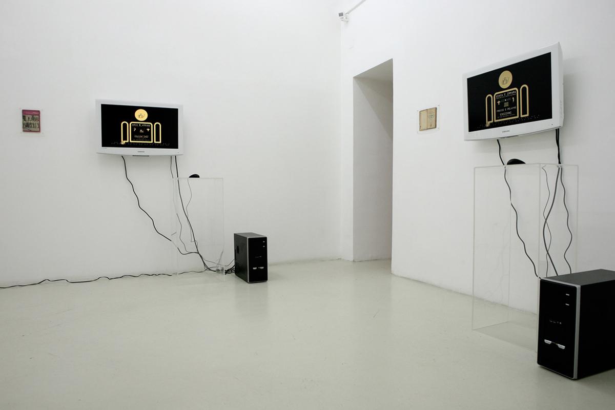 Rodolfo Peraza, exhibition view