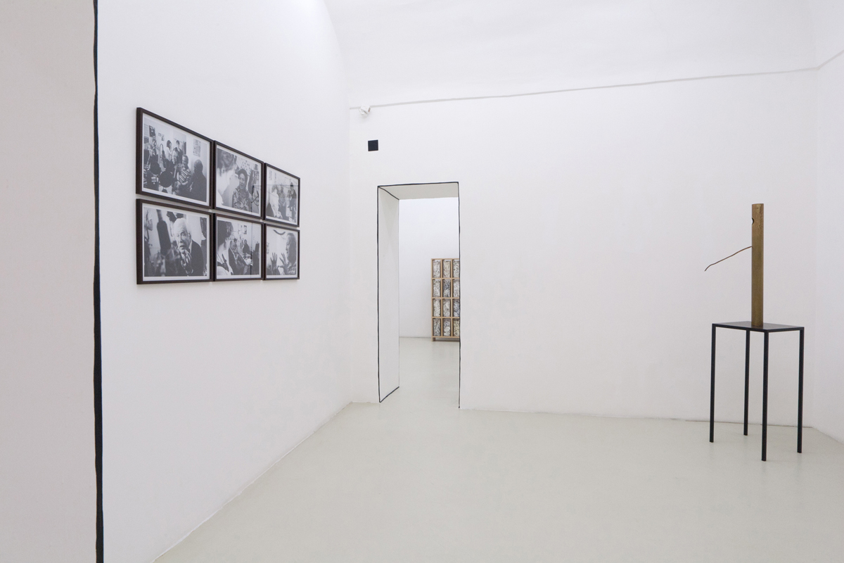 Marinella Senatore, Luca Francesconi, exhibition view