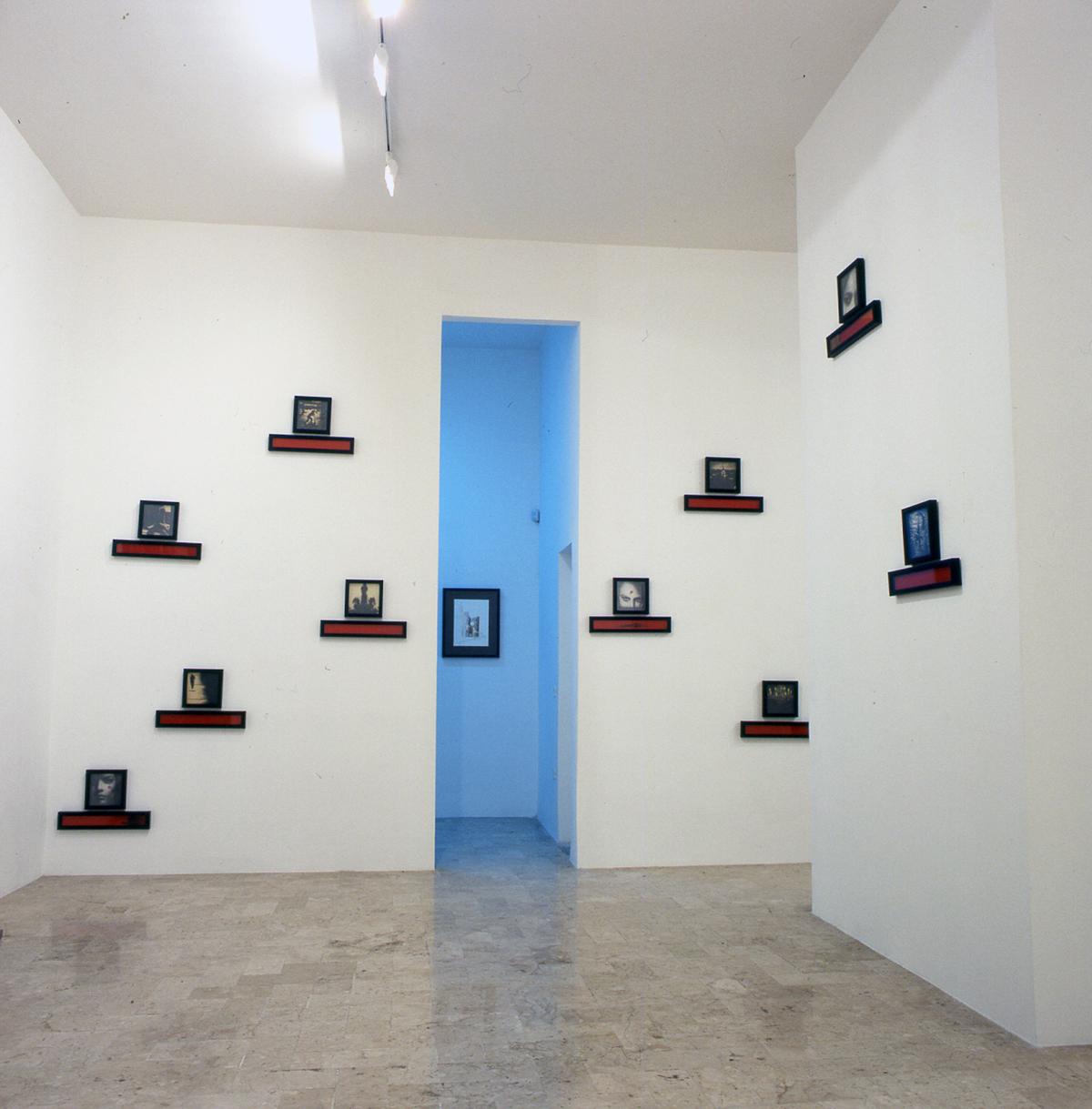 Omar Galliani, Visione di S. Lucia, 2001