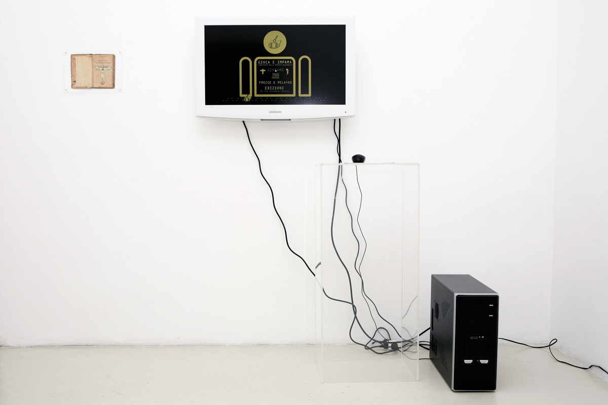 Rodolfo Peraza – Play and Learn 1.0 (Half Monks, Half Soldiers), 2008, videogame
