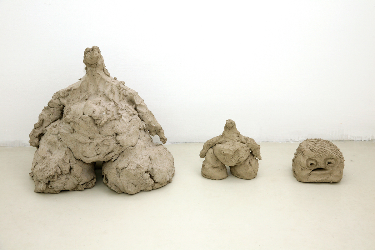 untitled (creazionismo), 2009, river earth, cm 35 x 73 x 25