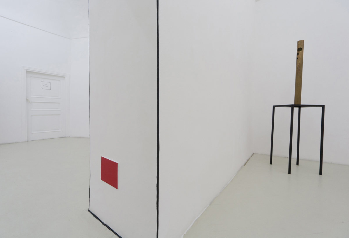 Luca Francesconi, Marc Breslin, Marco Raparelli, exhibition view